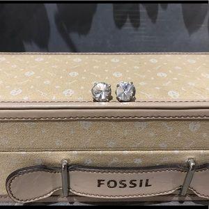 ✨4/$40✨ Fossil Large Glitz Stud Earrings